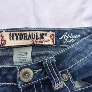 Used Hydraulic Addison boot cut 7/8